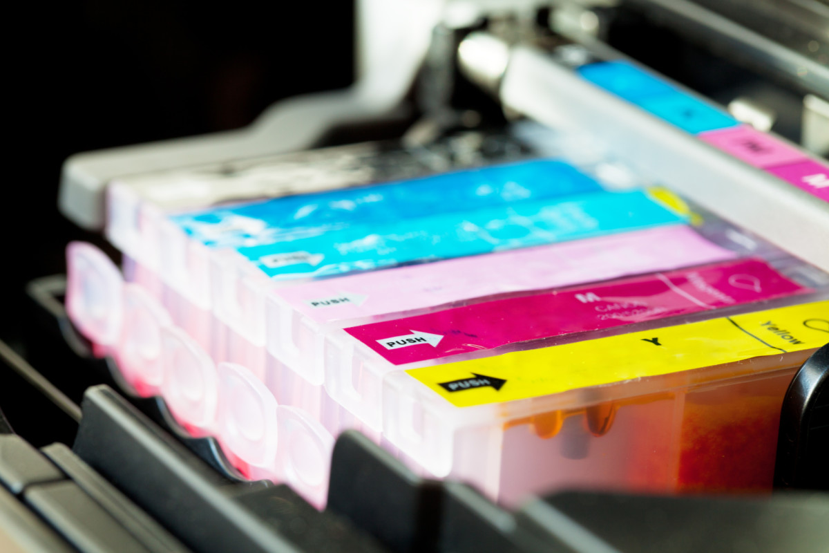 Color printer Cartridge cmyk set